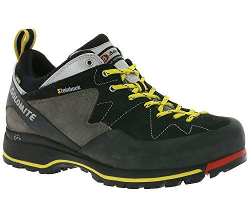 Dolomite Herren 85573700-010 Trekkingschuh Steinbock Low GTX Black/Silver - UK 8,5