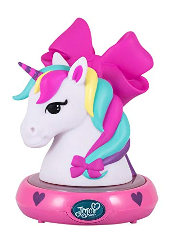 JoJo Siwa 3D NightLight Unicorn Figurine Lamp