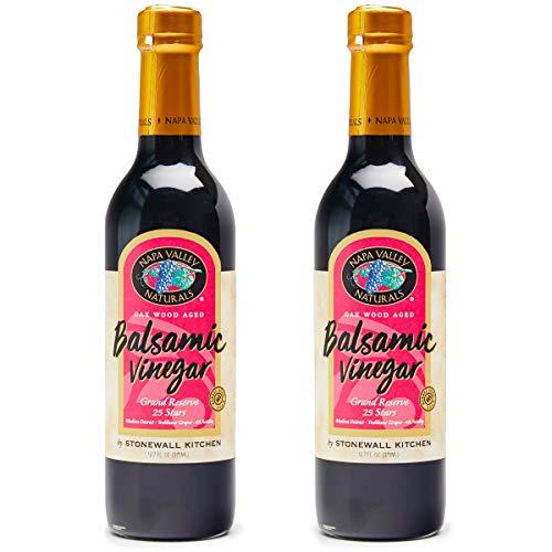 Napa Valley Naturals Grand Reserve Balsamic Vinegar, 12.7 Ounce (2-Pack)