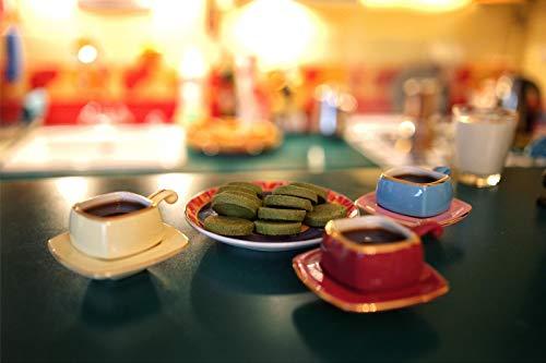 Kaffeezeit Mit Grüntee-Keksen 1.000 Puzzleteile Für Kinder Fordern Die Gehirnleistung Heraus