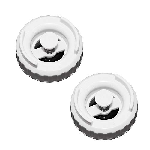AMI PARTS 509229-1/822419-2 Humidifier Bottle Valve Cap Compatible with Essick Air, Emerson, MoistAir, Kenmore Humidifier (2 Pack)