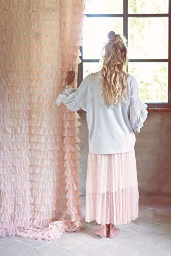 Blanc Mariclo - Tenda in tulle, 150 x 290 cm, colore: Rosa