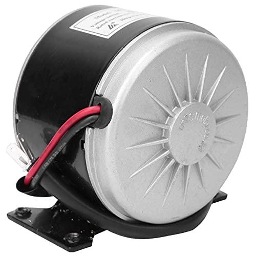 MY1016 24V 250W Motor de cepillo pequeño, Motor eléctrico de CC de alta velocidad con soporte, Accesorio de bicicleta para polea Scooter eléctrico Bicicleta eléctrica Motor de scooter eléctrico