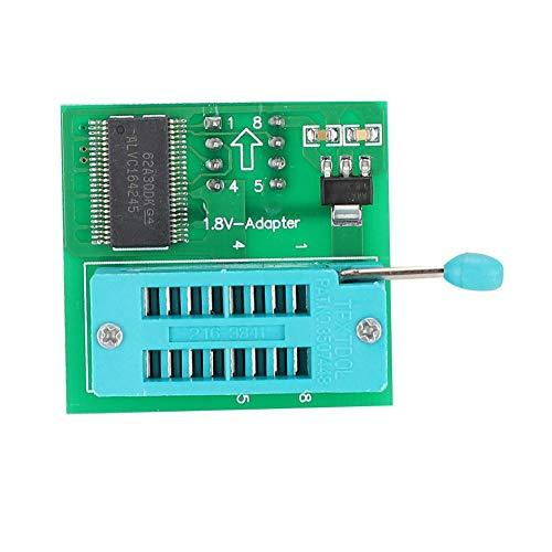ASHATA 1,8 V converter SPI Flash SOP8 DIP8 conversie plat beeldscherm MX25 1,8 V adapterplaat voor iPhone/iPad