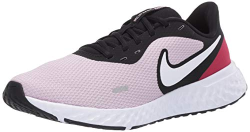 Nike Wmns Revolution 5, Scarpe da Corsa Donna, Iced Lilac/White-Black-Noble Red, 40 EU
