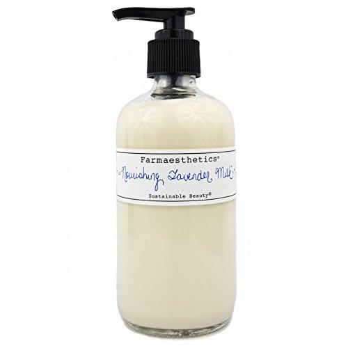 Farmaesthetics Nourishing Lavender Milk Face and Body Lotion 8 oz