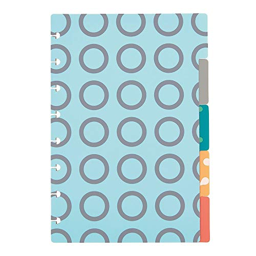 Staples 2103823 Arc System Tab Dividers Assorted Patterns 6-Inch x 8-1/2-Inch (50046)