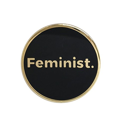 Feminist Lapel Pin - Female Cool Inspirational Message Brooch for Shirt Hat Jacket Hooddie