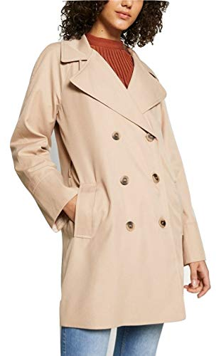 Vila Clothes Damen VIPARUS New Trenchcoat, Nomad, 38
