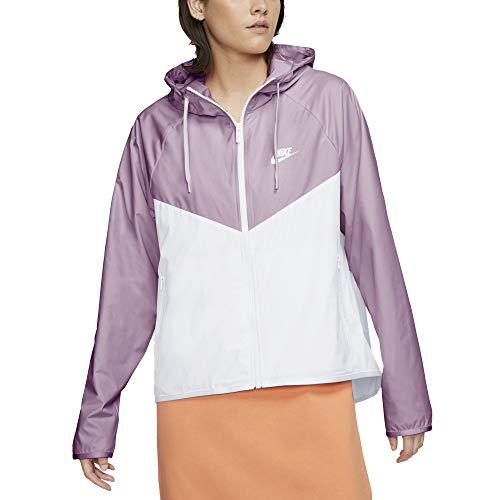 Nike Windrunner - Chaqueta de mujer, color lila, cód. BV3939-576 Lila White L