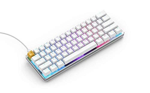 Glorious Pc Gaming Race GMMK Regular Modulare Mechanische Gaming Tastatur Kabel USB mit Eingebauten Braunen Gateron Schaltern - RBG Hintergrundbeleuchtung - Us Keyboard Gaming Layout