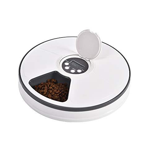 Dispenser automatico per animali di piccola taglia - 6 pasti