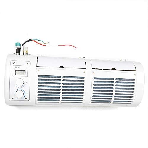 12V Ventilador de coche, enfriador de aire acondicionado Ventilador de aire acondicionado automático para acondicionador de aire colgante de camión de caravana de coche
