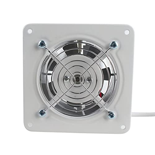 YOUCHOU Extractor de ventilación Industrial Extractor axial de Metal Ventilador de Aire Comercial Ventilador de bajo Ruido Funcionamiento Estable