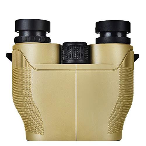 MJJT Télescope 10X25 Optique Télescope Binoculaire Spotting Scope pour Camping Randonnée Voyage Concert Antichoc Imperméable À l'eau