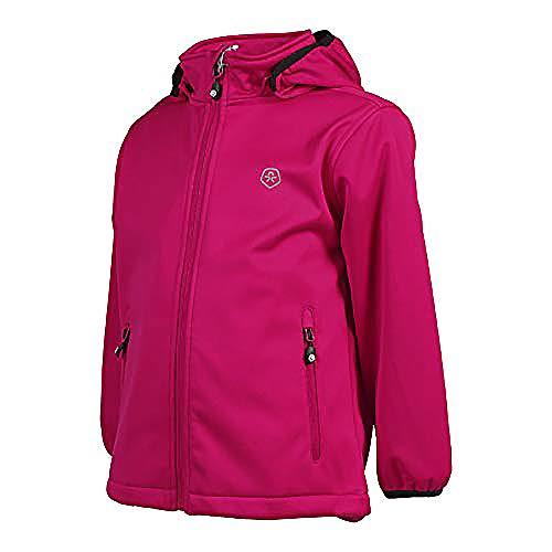 Color Kids. Ralado, Softshell-Jacket Junior Air-Flo Protect, Rasberry, Gr, 140