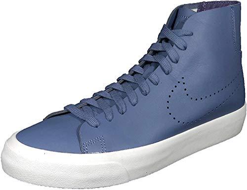 Nike Blazer Studio Mid Mens Hi Top Trainers 880870 Sneakers Shoes (UK 9.5 US 10.5 EU 44.5, Blue Moon 400)