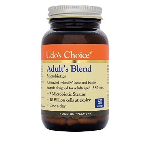 Udos Choice Adults Blend Microbiotics - 60 Vegicaps