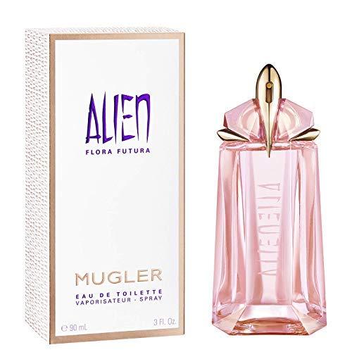 100% Authentic MUGLER ALIEN FLORA FUTURA EDT 90ml Made in France +...
