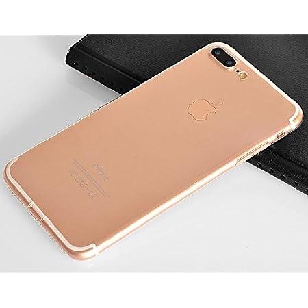 【Smart-KM】A063 iPhone 7/iPhone 7 Plus/iPhone 8/iPhone 8 Plus/iPhone X/iPhone Xs/iPhone Xs Max/iPhone XR対応 ケース クリアケース スマホケース 高機能 シリコン 超薄型 0.8mm 超軽量 防指紋 2点セット (iPhone7 Plus/iPhone8 Plus)