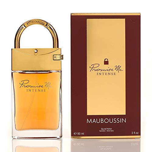 Mauboussin - Eau de Parfum Femme - Promise Me Intense - Orientalisch-blumiger & Köstlicher Duft - 90ml