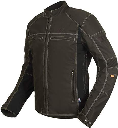 Rukka Raymore Motorrad Textiljacke Dunkelbraun 50