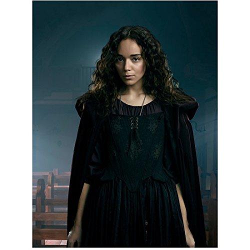 Salem (TV Show) Ashley Madekwe as Tituba Standing by Bench 8 x 10 Inch Photo