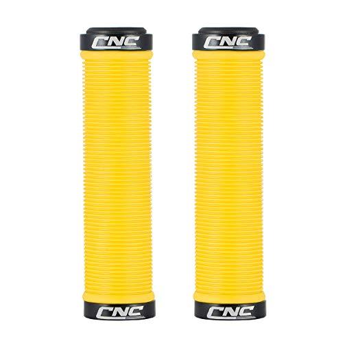 CNC Bike Handlebar Grips,Mountain Bike Grips, Bicycle Handlebar Grips for...