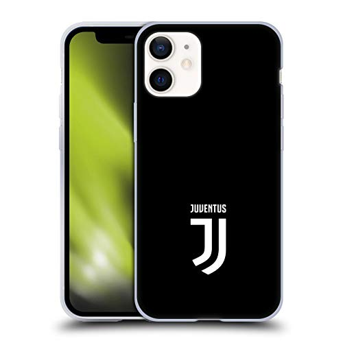 Offizielle Juventus Football Club Klar Lifestyle 2 Soft Gel Handyhülle Hülle Huelle kompatibel mit Apple iPhone 12 Mini