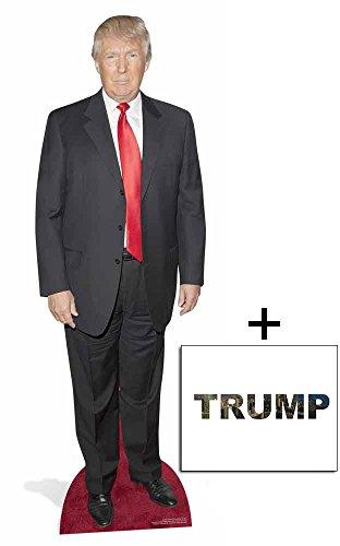 Donald Trump Lebensgrosse Pappaufsteller - mit 25cm x 20cm foto