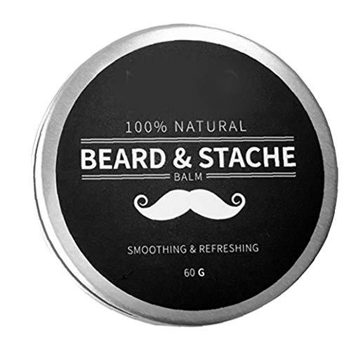ZYCX123 Beard Ölbalsam, Männer Bart Pflege Styling feuchtigkeitsspendende Wirkung Bart Conditioner Geschenke für Ehemann Vater