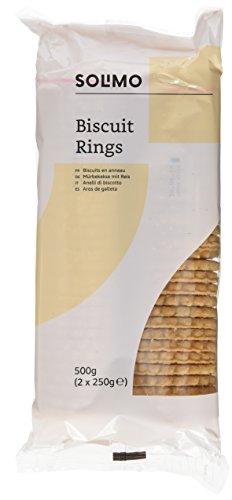 Marchio Amazon- Solimo Biscotti ad anello- 500g x 3