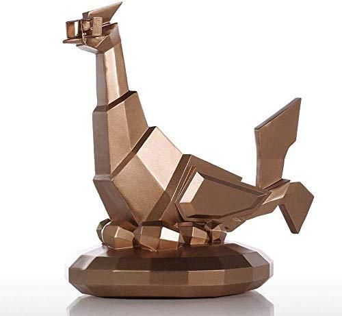 Sculpturen Beeldjes Moderne Sculptuur Glazen Kip Hars Sculptuur Home Decor Moderne Kunst Beeldje Dierlijke Standbeeld