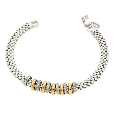 ORIGINAL FOPE armband Masai Weißgold 18kt - 597B BBR