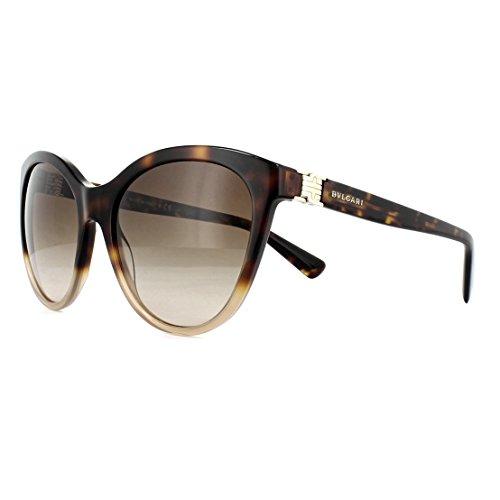 Bulgari 0Bv8197 536213 55 Gafas de sol, Marrón (Brown/Brown), Mujer