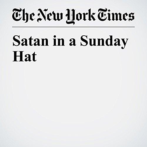 Satan in a Sunday Hat copertina