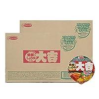 エースコック カップ麺 北海道限定 ラーメン 大吉 カップラーメン 醤油 ラーメン 12食入 2ケース(2箱) カップめん だいきち かっぷめん