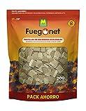 FUEGO NET Fuegonet 231281N Pastillas Ecológicas, Blanco, 27x7x40...