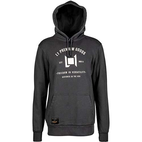 Nitro Erwachsene Wordmark Pullover'20 Hoodie, Vintage Black, L