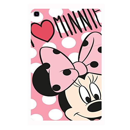 Samsung Galaxy Tab A7 Lite (2021) – (T220 / T225) (8.7 inch) Printed Designer Rubberised Soft Silicone Back Cover by Videotronix -Luv Minnie