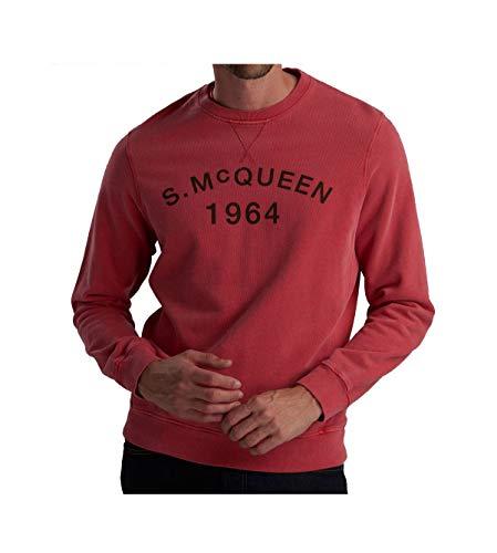 Barbour Felpa Uomo b. intl Steve McQueen Vintage Washed red ss19 L
