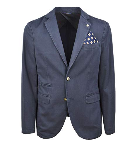 AT.P.CO - Uomo Giacca Blazer Ticket Pocket Blu A172LOUIS354 799 A - 27925-46