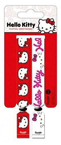 1art1 Hello Kitty - Wristband Set Braccialetto (10 x 2cm)