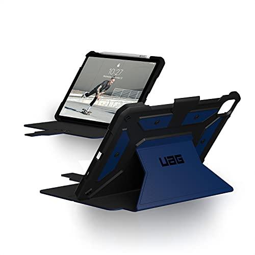 Urban Armor Gear Metropolis Funda Protectora para Apple iPad Pro 11'' Pulgadas (2021/2020 / 2018) Case, Apple Pencil 2 Compatible, Resistente, Admite de Despertador/sueño, Soporte, Azul