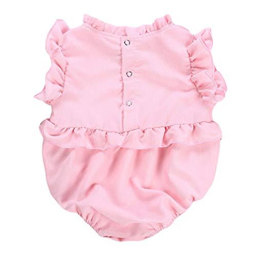 Jyuesi Sweet 0-2 pasgeboren baby meisje ruche Romper springen pak lichaam pak kleding Outfit zomer babykleding Hot 90 PK-90