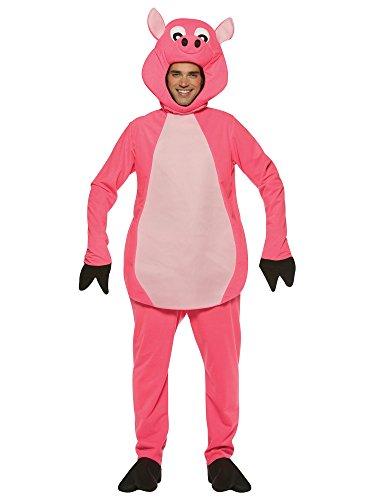 Rasta Imposta Pig, Pink, One Size