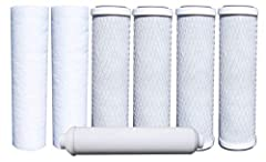 RO WATER FILTERS: This 500024 Annual 7-Pack of filters is designed for use with Watts Premier's RO-TFM-5SV, WP-ST6DM, WP-5 and WP5-50 Reverse Osmosis Systems. Save money by purchasing a Years Supply of Filters in one kit rather than individually. Thi...