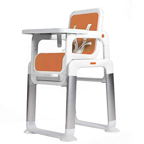SOAR Seggiolone Pappa Passeggiate for un'immagine for ingrandire seggiolone for Bambini, i Bambini imparano scrivania, seggiolino for Bambini Spaccato, la Zona Pranzo (Color : Orange)