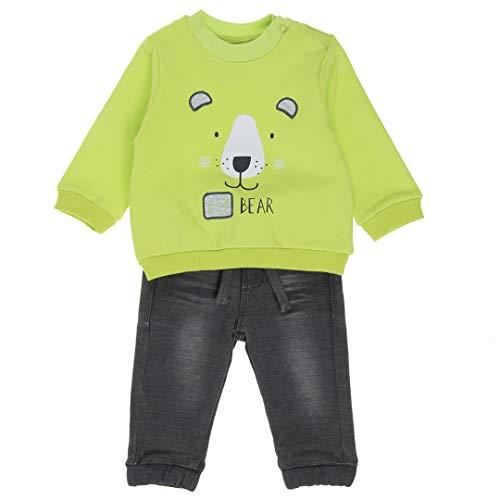 BABY-BOL Sweat-shirt et pantalon pour enfant - Vert - 12 mois