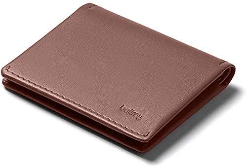 Bellroy Leather Slim Sleeve Wallet, Minimalist Front Pocket Wallet - Cocoa Java